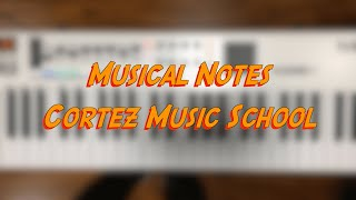 Musical Notes (Piano) - Cortez Music School