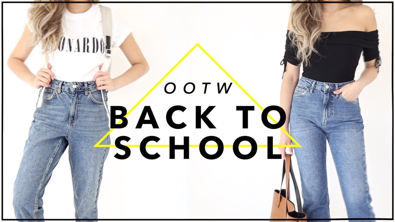 BACK to SCHOOL Outfits of the Week Fashion Lookbook 29  Miss Louie