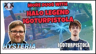 Hysteria | Fortnite Battle Royale  - More Duos with Halo Legend - IGotUrPistola