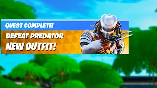 PREDATOR NOW in FORTNITE!