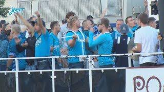 «Когда фанаты и команды вместе»: домашняя поддержка из акватории Невы