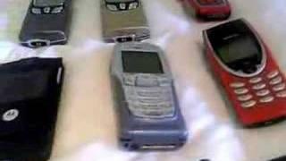 Coleccion de moviles antiguos