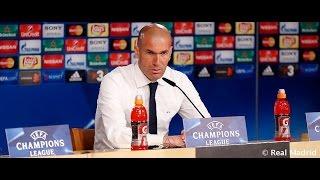 Zidane comenta la victoria frente a la Roma