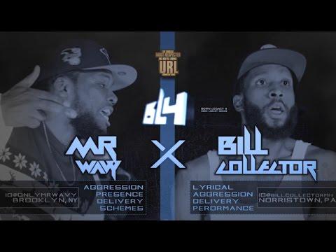 MR WAVY VS BILL COLLECTOR SMACK/ URL RAP BATTLE