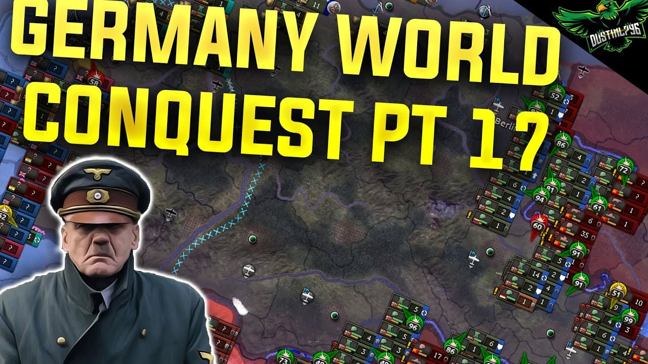 Hearts of Iron 4 Germany - World Conquest - Part 17 (HOI4 Man the Guns)