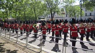 Guard Mount From Horse Guards Parade -  14th May 2018