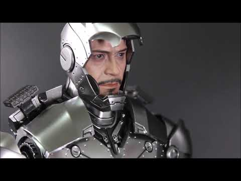[Unboxing] Hot Toys : Iron Man  -(Die-Cast)Iron Man Mark 2