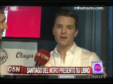 C5N - VIVA LA TARDE: SANTIAGO DEL MORO PRESENTO SU LIBRO
