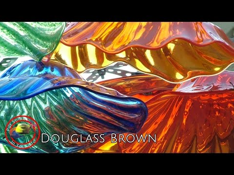 Fine Art Tips on Glass Blowing with Douglass Brown on Colour In Your Life