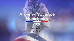 Second tour des municipales à Aix-en-Provence (13) : le débat