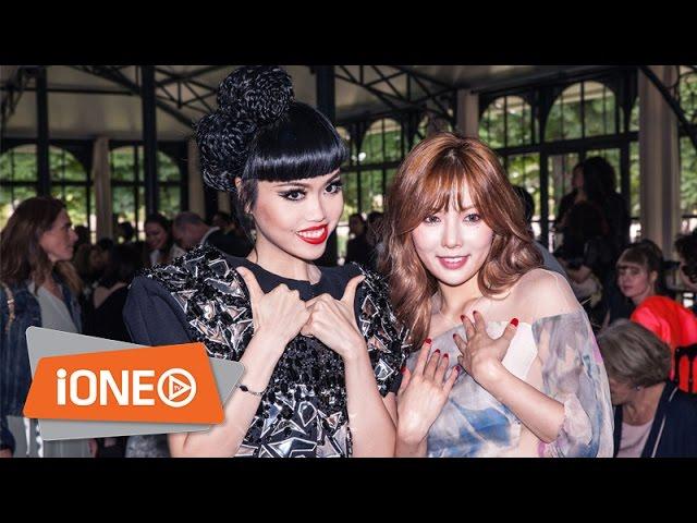 Jessica Minh Anh xuất hiện lộng lẫy tại tuần lễ thời trang Paris dòng Haute Couture