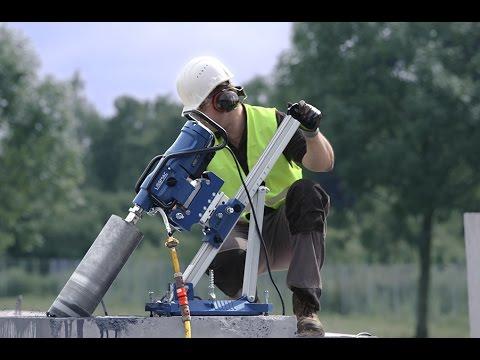 Core Drilling LISSMAC Pipe drilling machine en