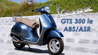 Vespa GTS 300 ie ABS/ASR: Prueba a fondo [FullHD]
