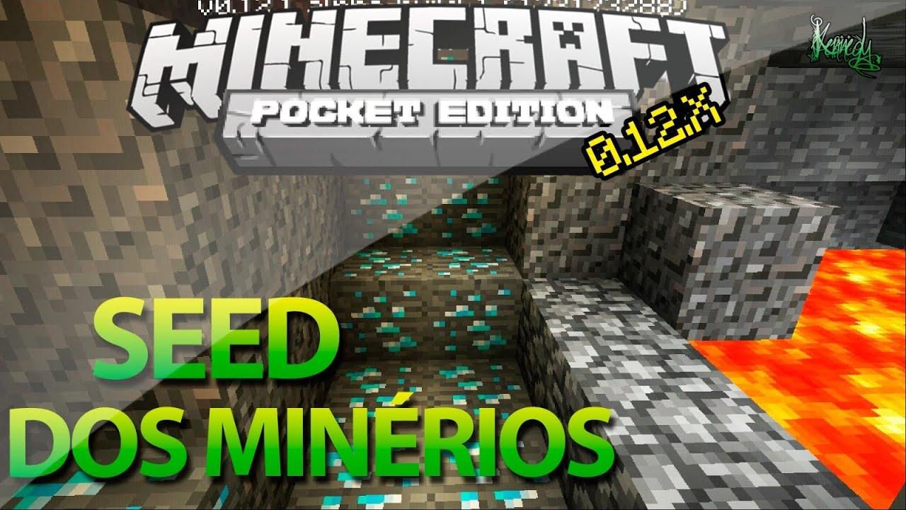 Minecraft Pe 0 12 1- A Melhor Seed De Min U00e9rios