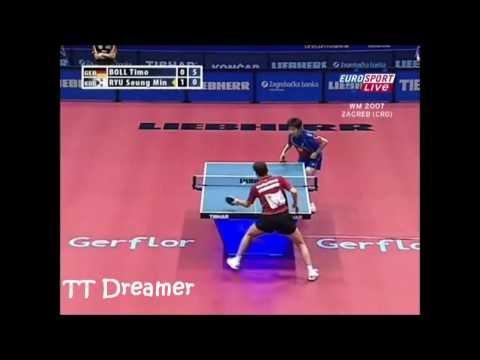 WTTC 2007: Timo Boll - Ryu Seung Min