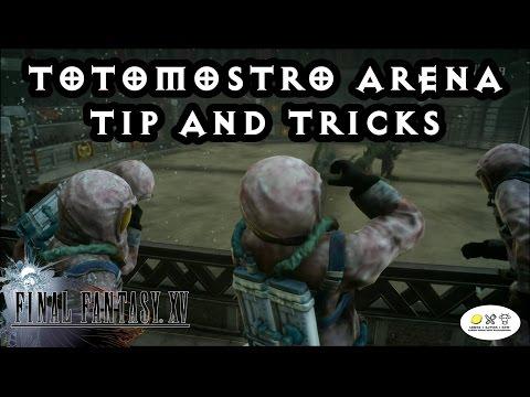 Final Fantasy 15 - Totomostro Guide! Altissia Colosseum!