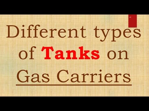 GAS TANKER TANK TYPES  MMD ORAL QUESTIONS FN 2