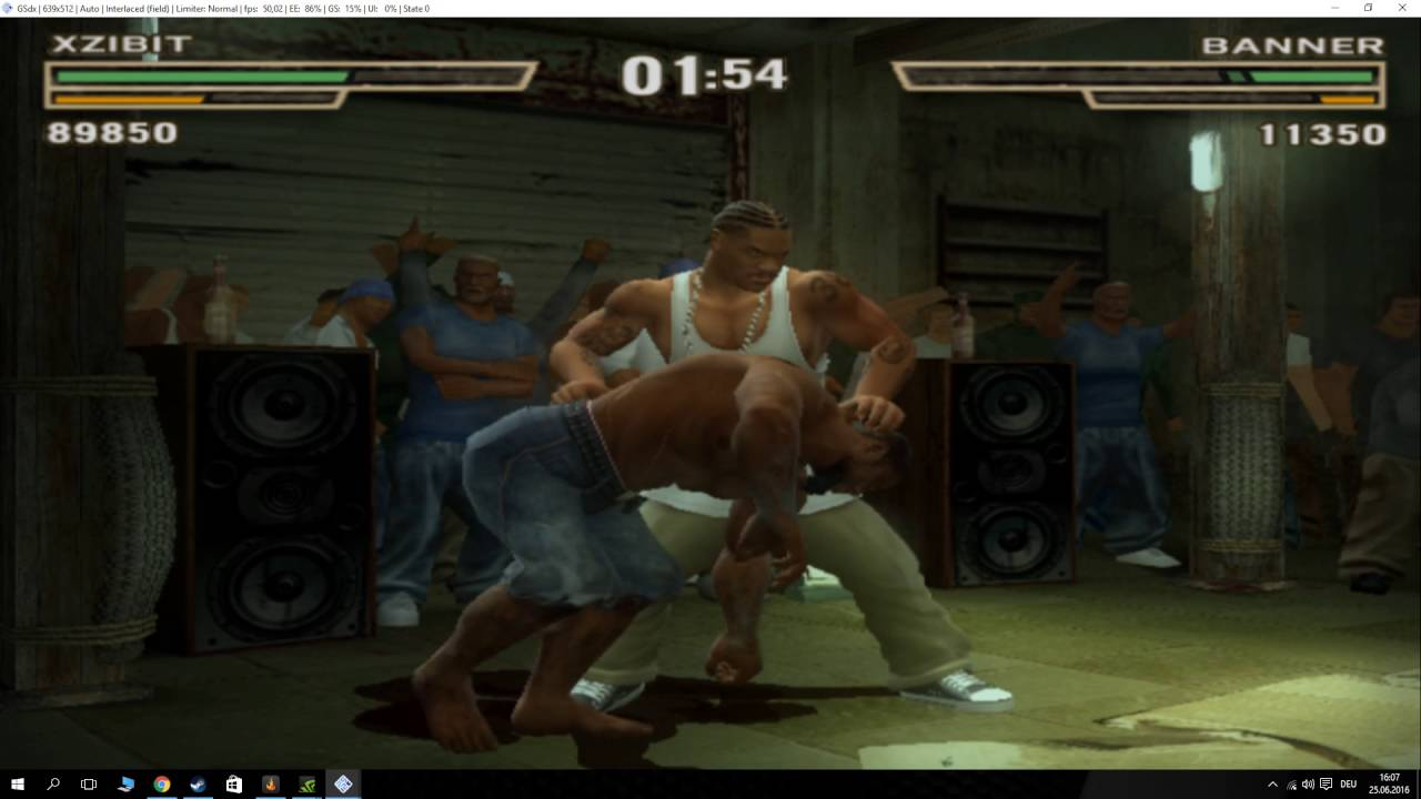 play def jam fight for ny on pc