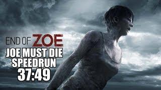 Joe Must Die Speedrun Walkthrough 37:49 - Resident Evil 7 End Of Zoe DLC