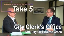 BA in Motion Take 5: City Clerk's Office (with City Clerk Curtis Green)