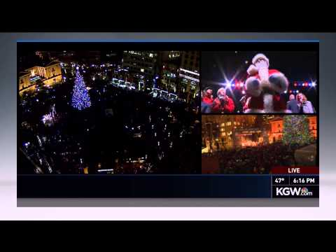 2014 Portland Christmas Tree Lighting