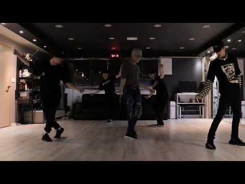 JONG UP (종업) (B.A.P) - Try My Luck Dance Practice (Mirrored)