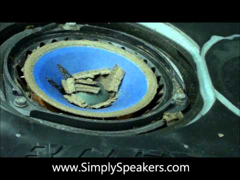 Bose 901 Speaker Foam Edge Replacement and Repair