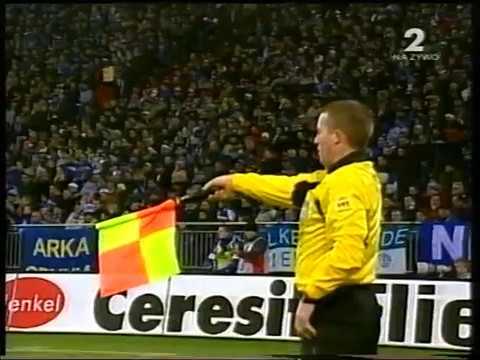 2002.12.10 Schalke 04 - Wisła Kraków 1:4