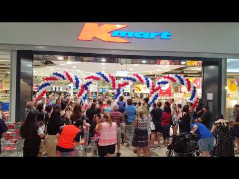 Opening Of The New Kmart Store