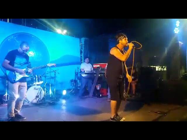 Conexão Central no festival da canção Caraguatatuba no dia 23 de novembro de 2018