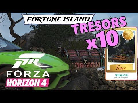 FORZA HORIZON 4: Tous les Trésors 10/10 FORTUNE ISLAND - Localisation / Position thumbnail