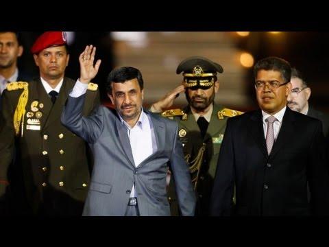 Ahmadinejad rallies support in Venezuela