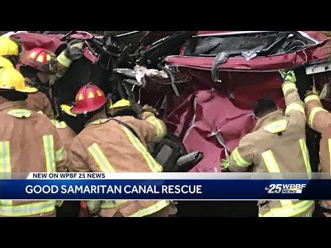 Good Samaritan canal rescue