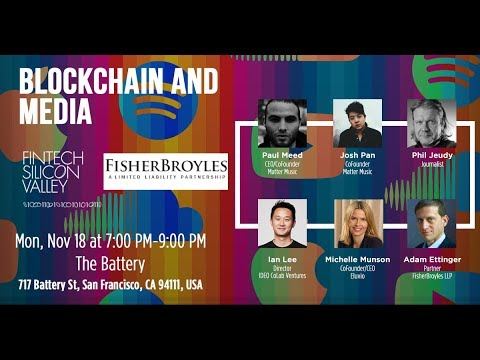 Blockchain and Media LIVESTREAM