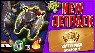 New JetPack in Fortnite Battle Royale // Solid Gold V2 // NEW UPDATE!
