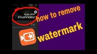 How to remove Watermark for free in Viva Video| *Not a Clickbait*| Viva video Pro Free