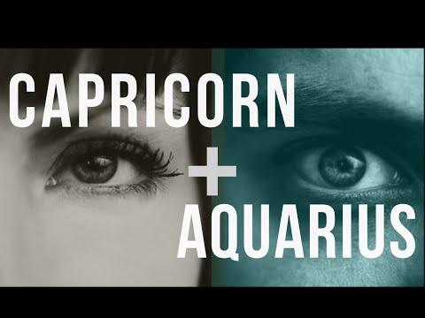 Capricorn & Aquarius Sun: Love Compatibility