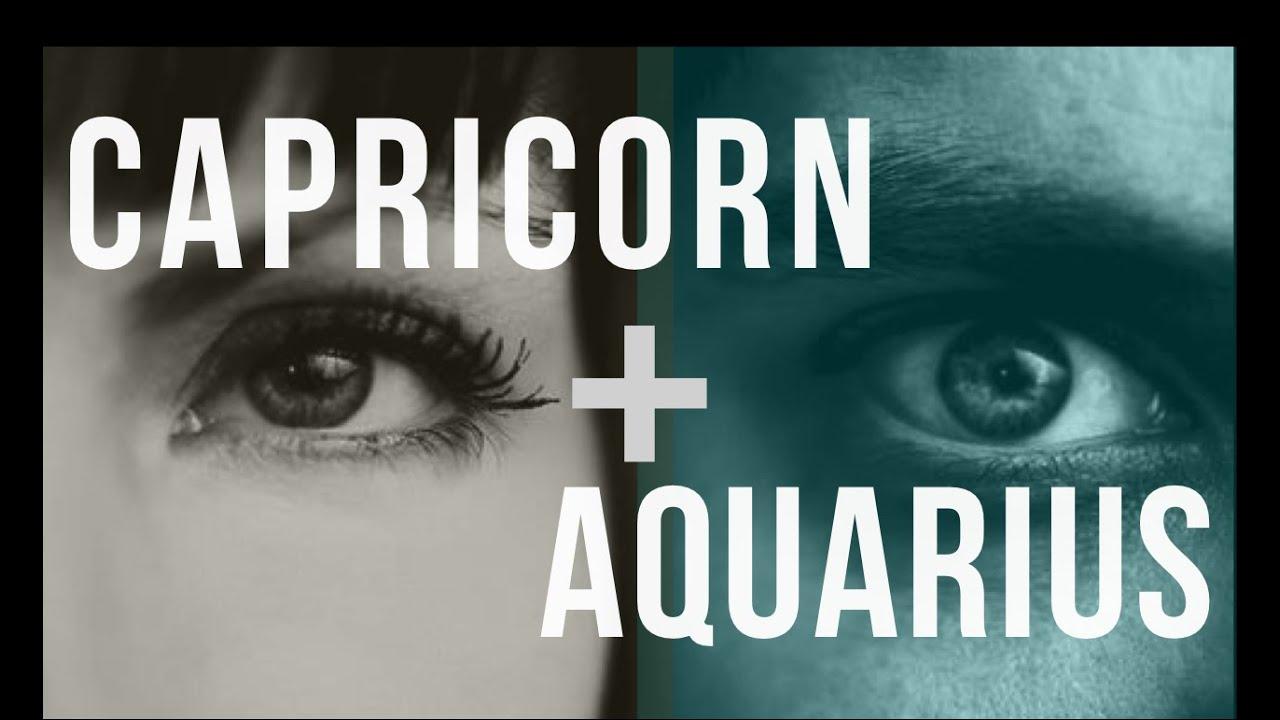 Capricorn & Aquarius Sun Love Compatibility