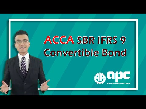 ACCA P2 Convertible Bond Treatment IFRS 9