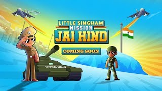 Little Singham Mission Jai Hind Teaser Promo – Coming Soon | Kids Cartoon | Discovery Kids