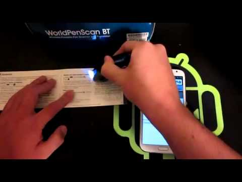 SCAN ANY TEXT INTO YOUR PHONE WORLD PEN SCANNER.mp4
