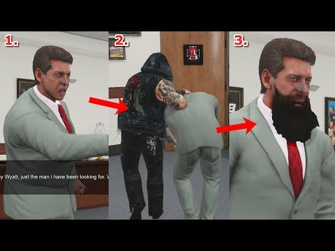 What Happens if Mr McMahon is FORCED to Join Wyatt's in WWE 2K18 Universe?