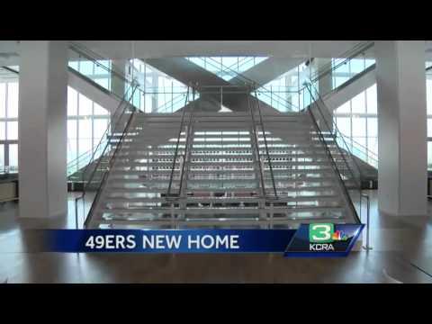 Go inside the 49ers new Levi Stadium