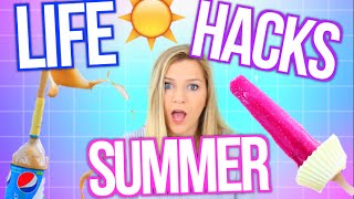 7 life hacks for summer you need to know