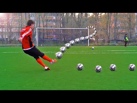 Crazy Free Kick Tutorial - How To Shoot A Knuckleball