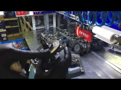 Audi / Volkswagen / Skoda. Выполняем восстановление партии компрессоров кондиционера Denso 6SEU14C.