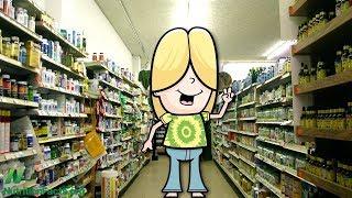 Rady pracovníků obchodů se zdravou výživou ohledně potravinových doplňků