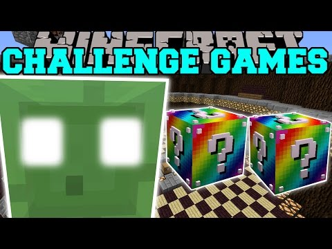 Minecraft: KING SLIME CHALLENGE GAMES - Lucky Block Mod - Modded Mini-Game