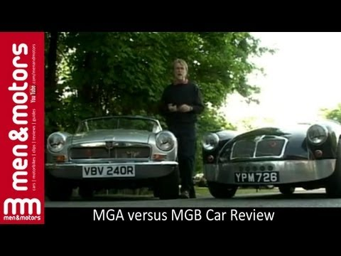 MGA versus MGB Car Review with Chris Goffey (2001)