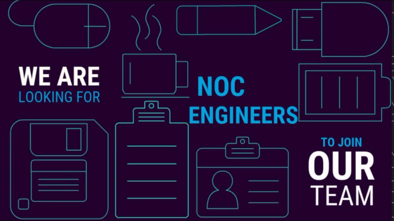 noc engineer job opening apply now